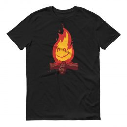 SHIRT_Flamey_Black