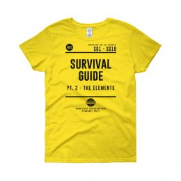 W_SHIRT_Survival_Yellow