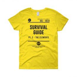 W_SHIRT_Survival_Yellow